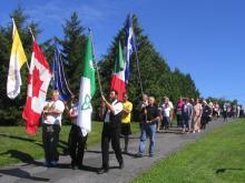 Sainte Anne  procession Ontario